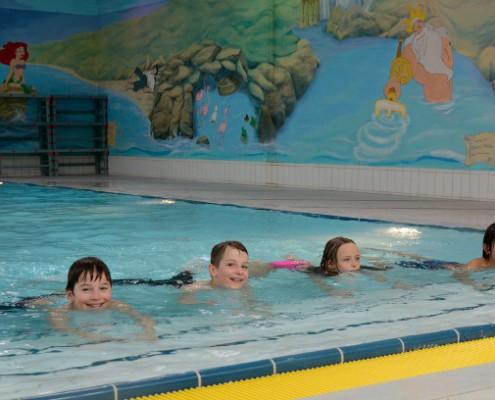Kleinkindschwimmen in München Ottobrunn