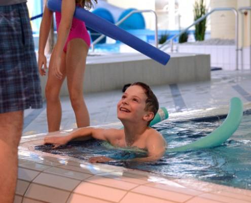 Schwimmunterricht für Kinder